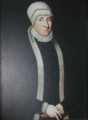 Potrait von Gräfin Anna