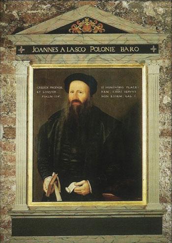 Potrait von Johannes a Lasco